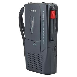 old fashioned dictaphone