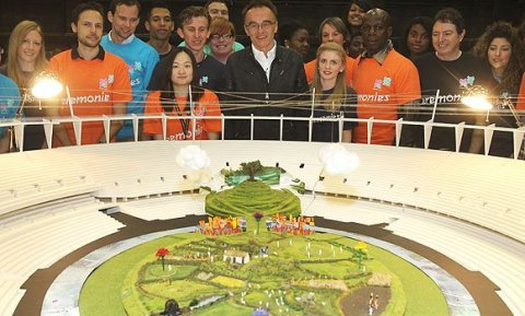 danny boyle london 2012 olympics model