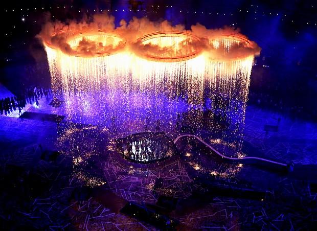 london 2012 olympics rings