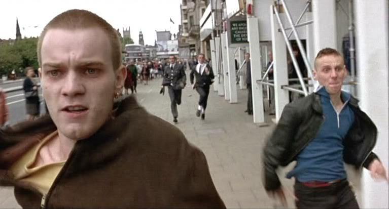 Trainspotting choose life ewan McGregor renton
