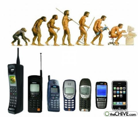 evolution phones