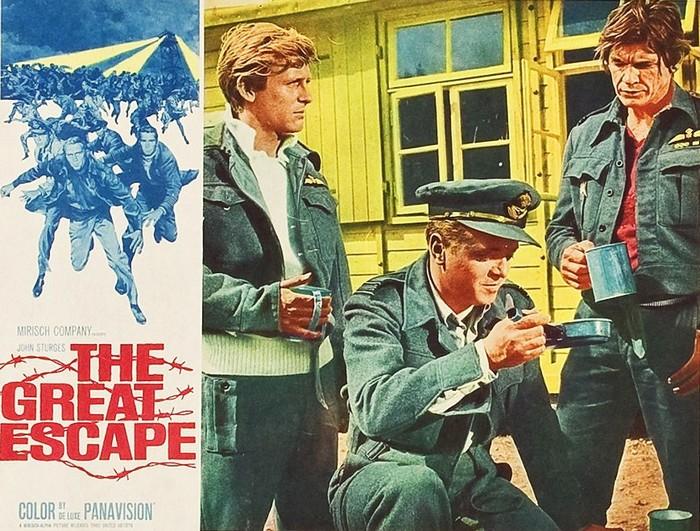 The Great Escape poster Richard Attenborough