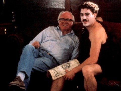 richard attenborough chaplin robert downey jnr director