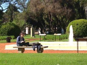 El Rosedal Buenos Aires gardens