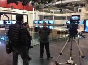 TV Publica Buenos aires TV station public studio