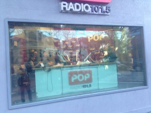 radio station glass wall buenos aires