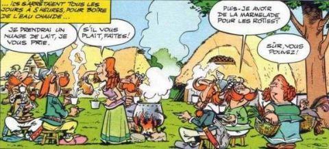 Asterix Chez les Bretagnes