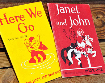 janet and john here we go book