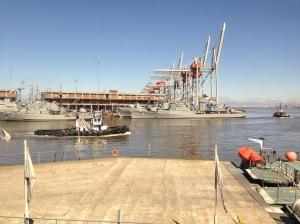 uruguay navy in port montevideo