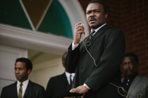 Actor David Oyelowo as Dr Martin Luther King Jnr in Selma