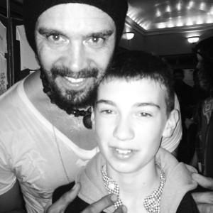 Michael Franti & dancer