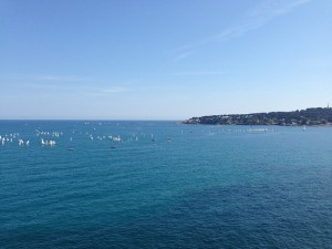 view from the picasso museum antibes