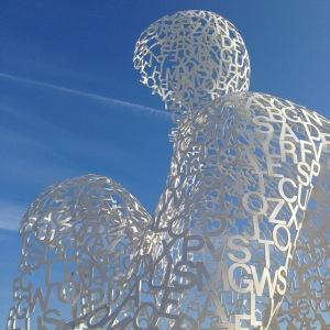 jaume plensa nomade antibes sculpture