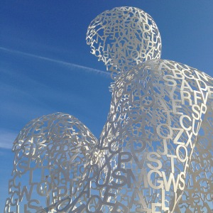jaume plensa nomade antibes sculpture