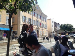 around provencal market old antibes