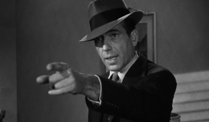 Humphrey Bogart as Philip Marlowe