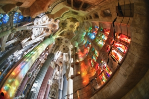 Basilica Of The Sagrada Familia interior