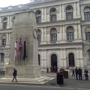 ve day 70-preparations-for-cenotaph-commemoration-london