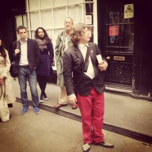 yeats walk with niall mcdevitt