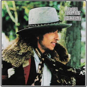 bob Dylan Desire record cover art work