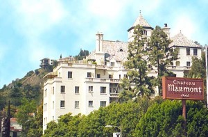 Chateau Marmont hotel sunset boulevard strip