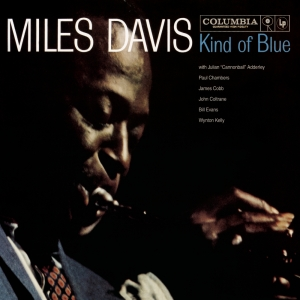kind-of-blue LP miles davis cover
