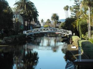venice-canals-bridge los angeles venice