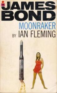 Moonaraker Ian Fleming novel Bond 1955 paberback pan book cover