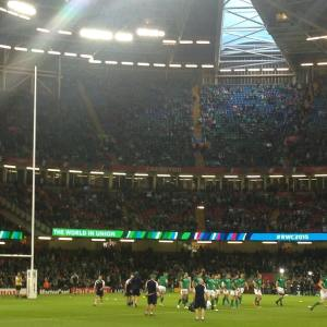 Ireland v Argentina Rugby World Cup 2015 Cardiff 18 October 2015 quarter final millennium stadium