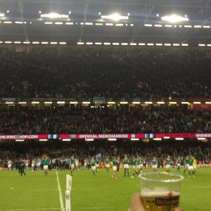 Ireland v Argentina Rugby World Cup 2015 Cardiff 18 October 2015 quarter final millennium stadium