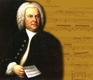 The boy is Bach in town
