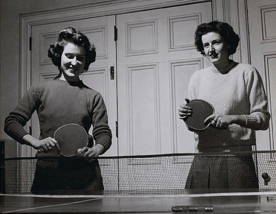 vintage hanno table tennis germany