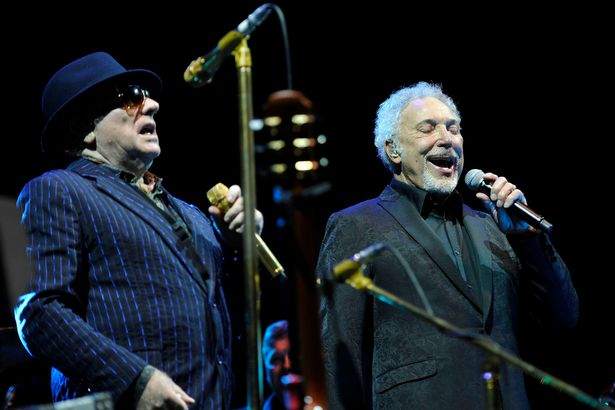 PAY--Van-Morrison-and-Tom-Jones-performing-at-Prudential-BluesFest-O2-Arena-in-London
