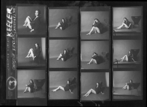 NPG x38964; Christine Keeler by Lewis Morley