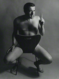 NPG x38945; Sir David Paradine Frost by Lewis Morley