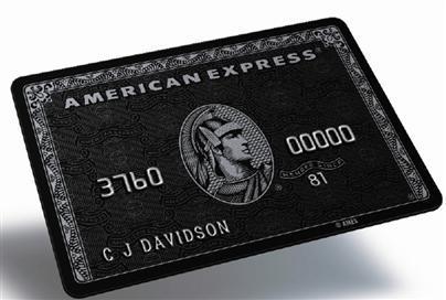 AMEX centurion black card American Express