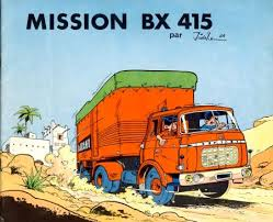 Mission BX 415 bande dessinee comic book cover