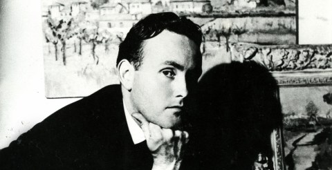 Derek Hill by Cecil Beaton photograph