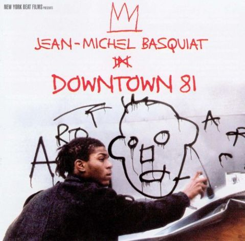 downtown 81 basquiat E