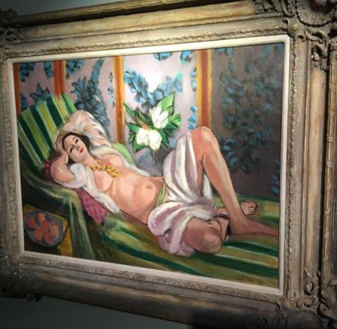 Odalisque couchée aux magnolias - Matisse (1923)