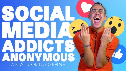 social media addicts anonymous documentary film Poster real stories