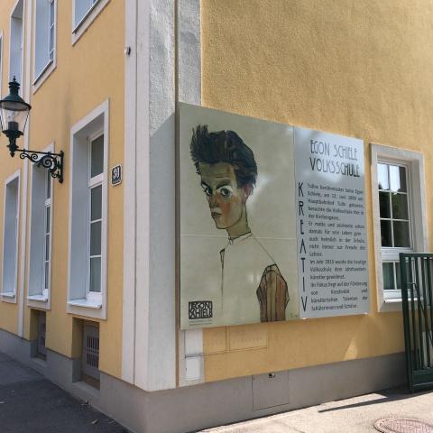 Schiele's school - Tulln, Austria