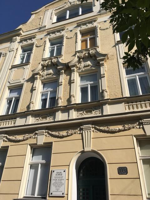 egon schiele Hietzing, Hietzinger Hauptstraße edith harms