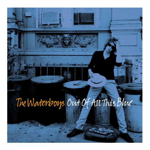 Out Of The Blue Album Cover the waterboys