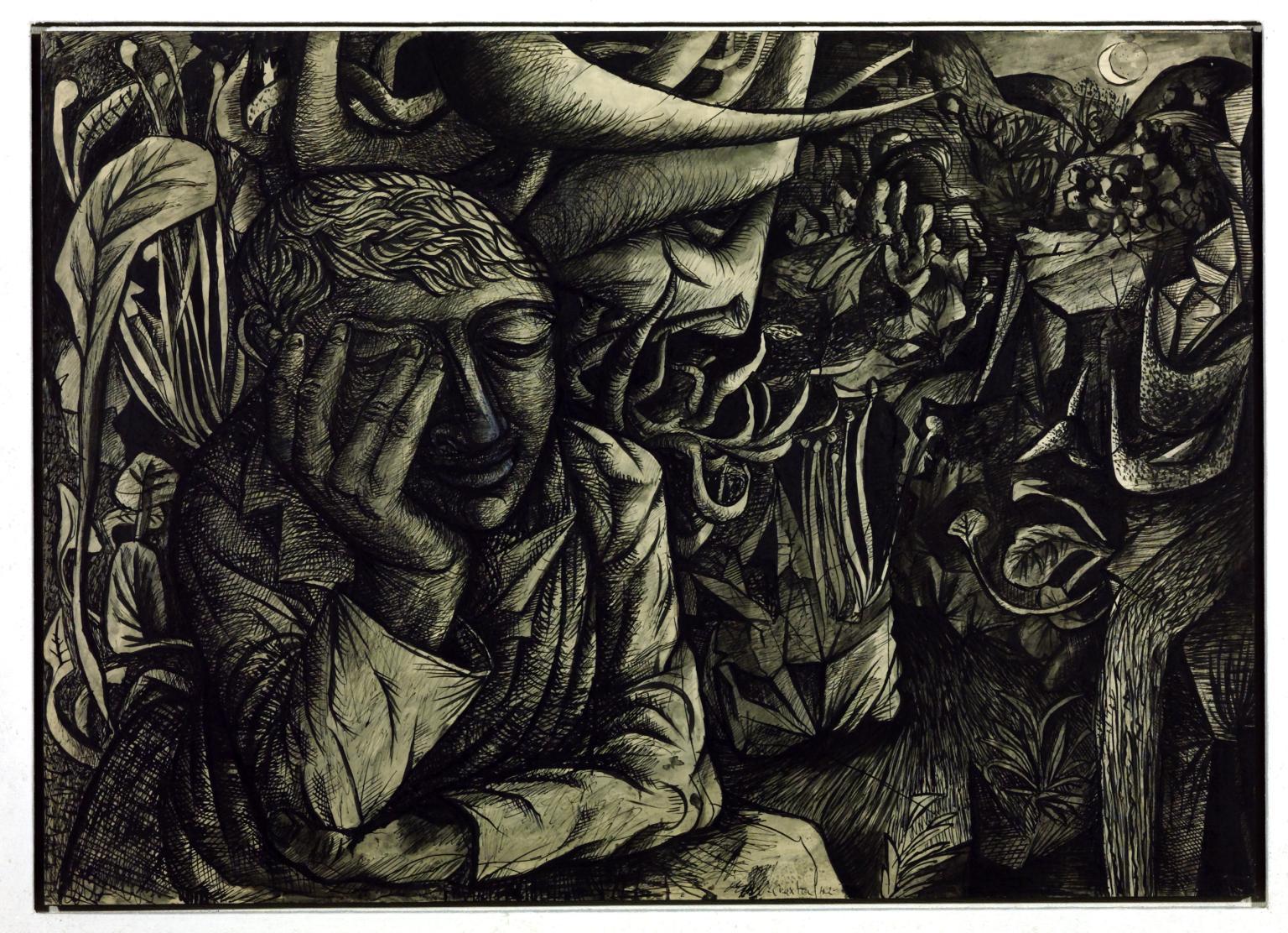 Dreamer in Landscape (1942) - John Craxton