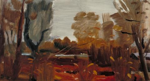 Damp Autumn (1941) - Ivon Hitchens