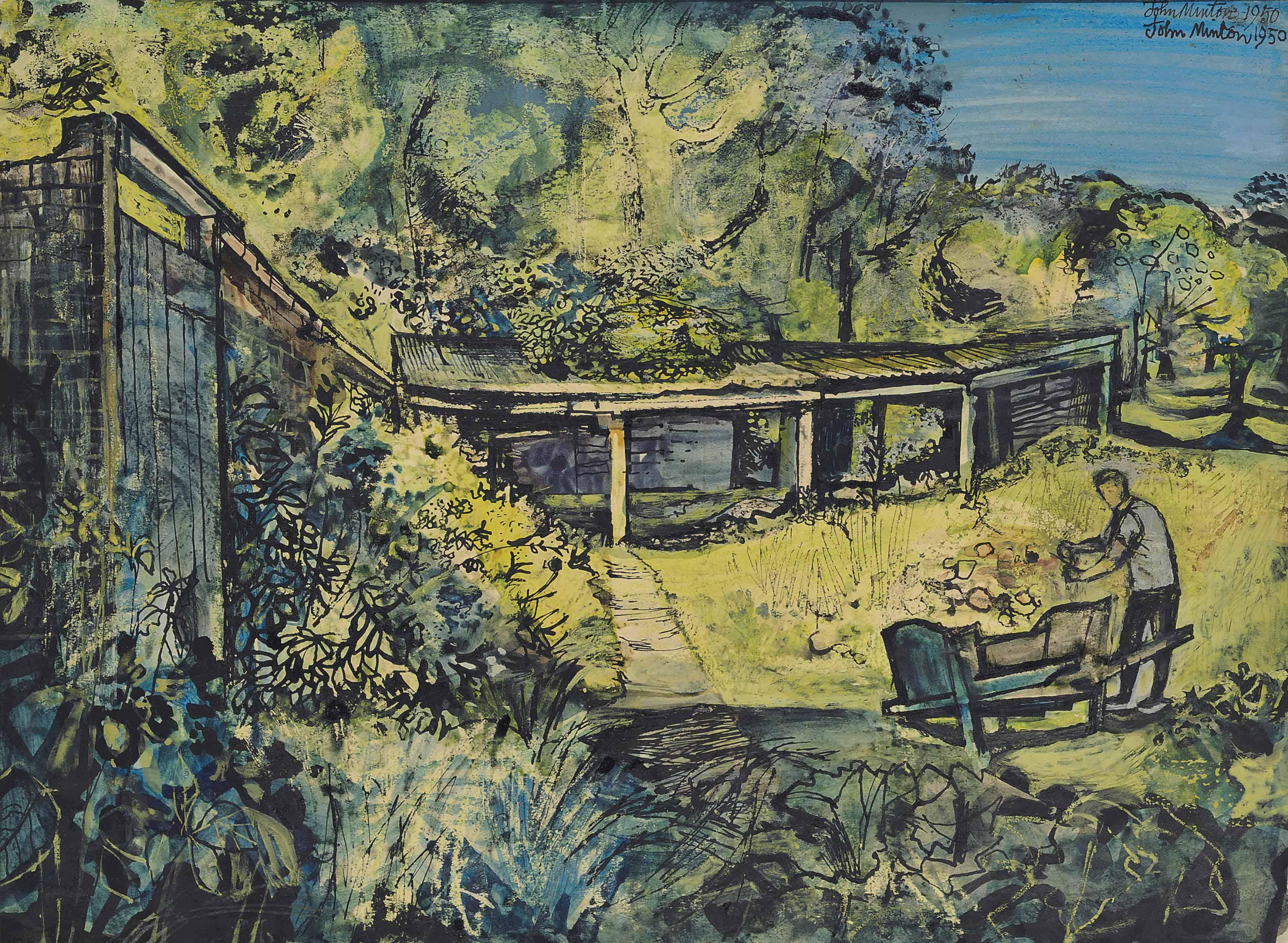 Summer Landscape (1950) - John Minton