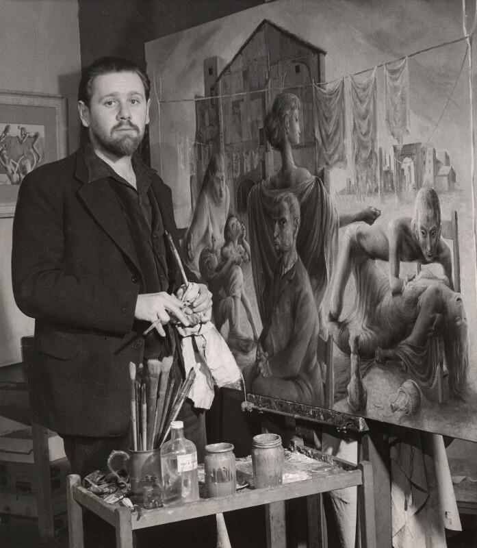 Michael Ayrton, by Lola Walker (Lola Marsden), 1950