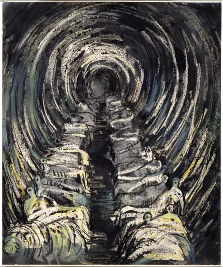 Tube Shelter Perspective (1941) - Henry Moore