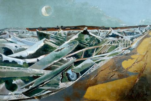 Totes Meer (Dead Sea) 1940-1 - Paul Nash